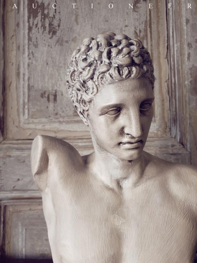 1950年代<br>義大利老石膏雕像 2