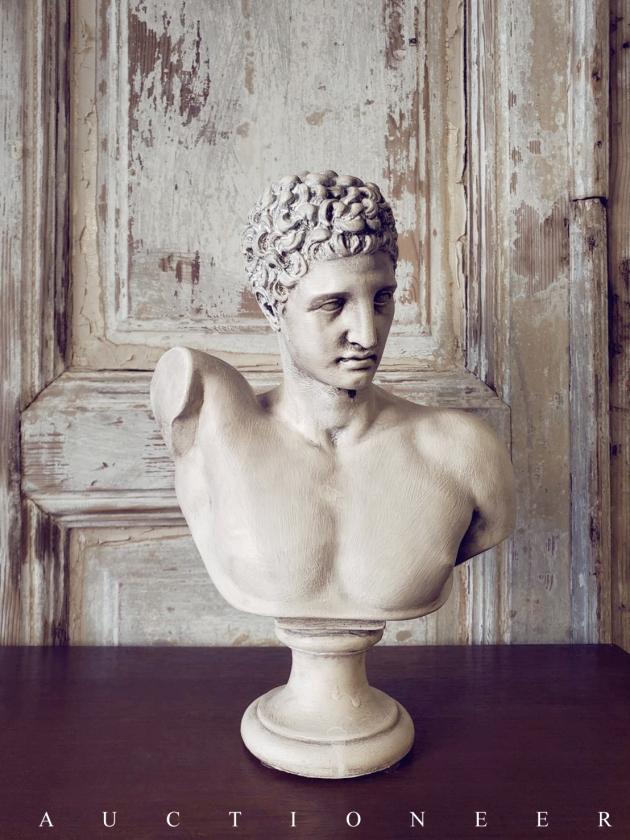 1950年代<br>義大利老石膏雕像 3