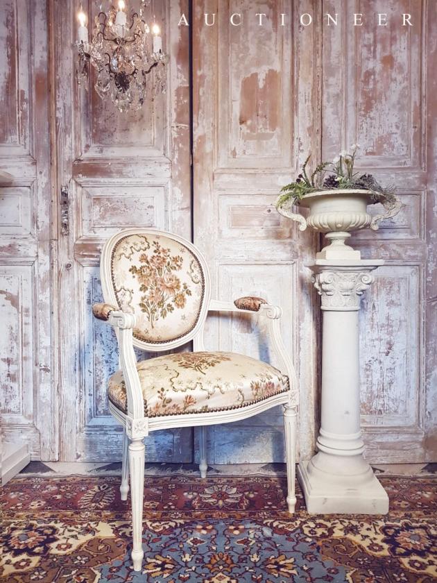 1950年代<br>法國緹花扶手椅 1