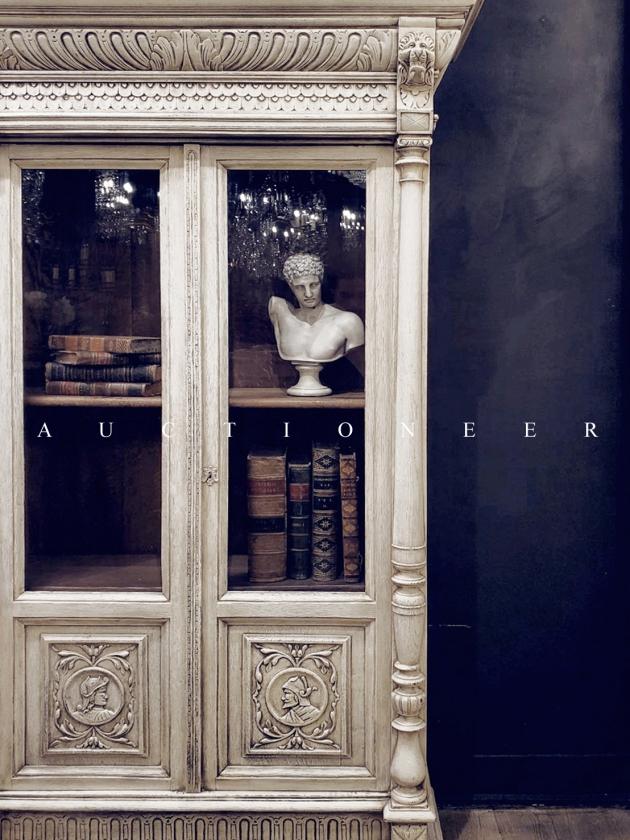 1900年代<br>法國文藝復興書櫃 2