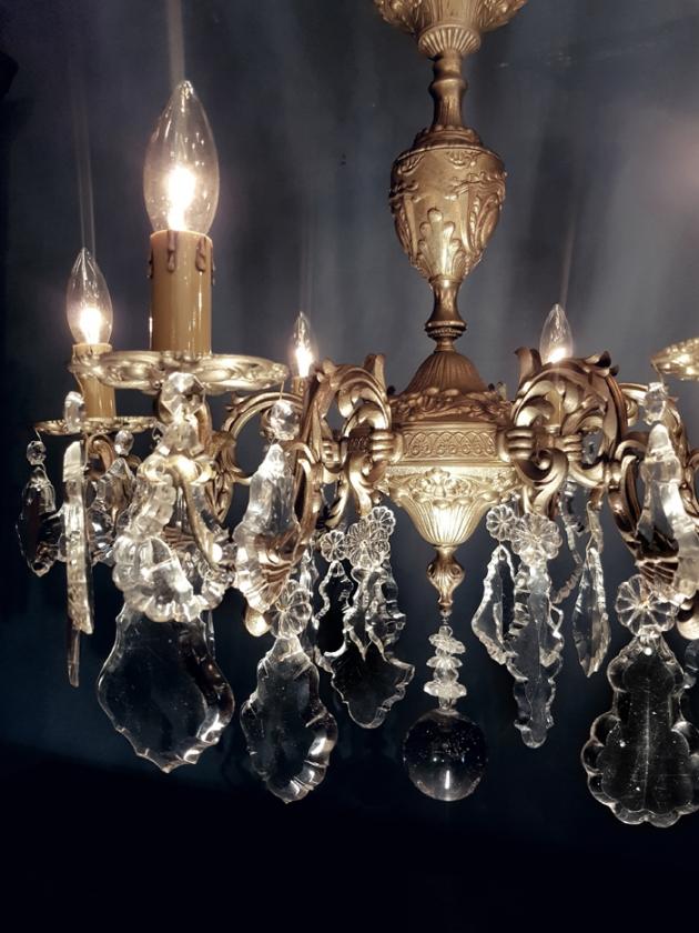 1900年代<br>法國水晶吊燈 2