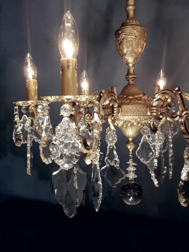 1900年代<br>法國水晶吊燈 4