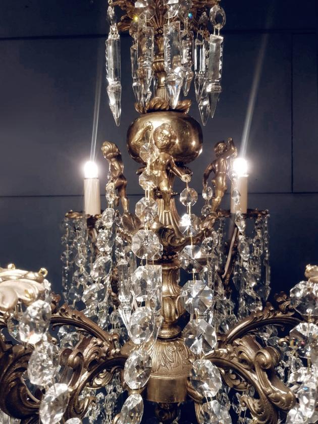 1930年代<br>法國巴卡拉水晶吊燈 4