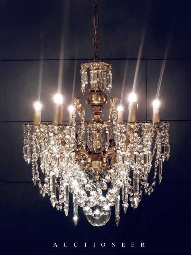 1930年代<br>法國巴卡拉水晶吊燈 5