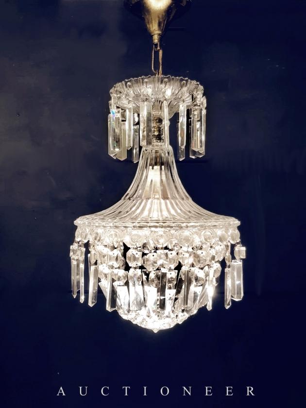1950年代<br>法國Empire水晶燈 1