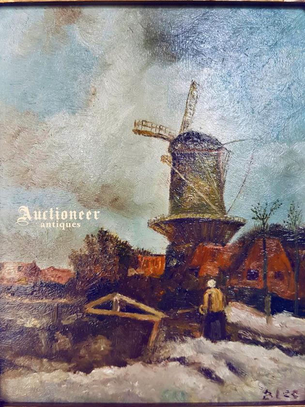 1900年代<br>荷蘭木板油畫 2
