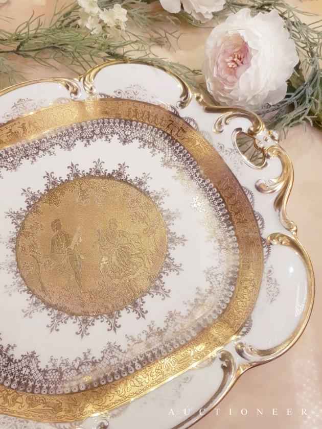 1921年代<br>德國DW黃金瓷盤 2