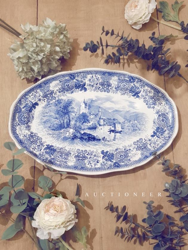 1950年代<br>德國青花瓷盤 1