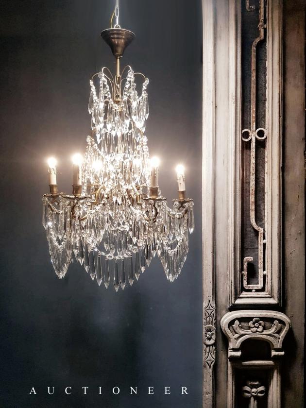 1950年代<br>法國流蘇水晶燈 4